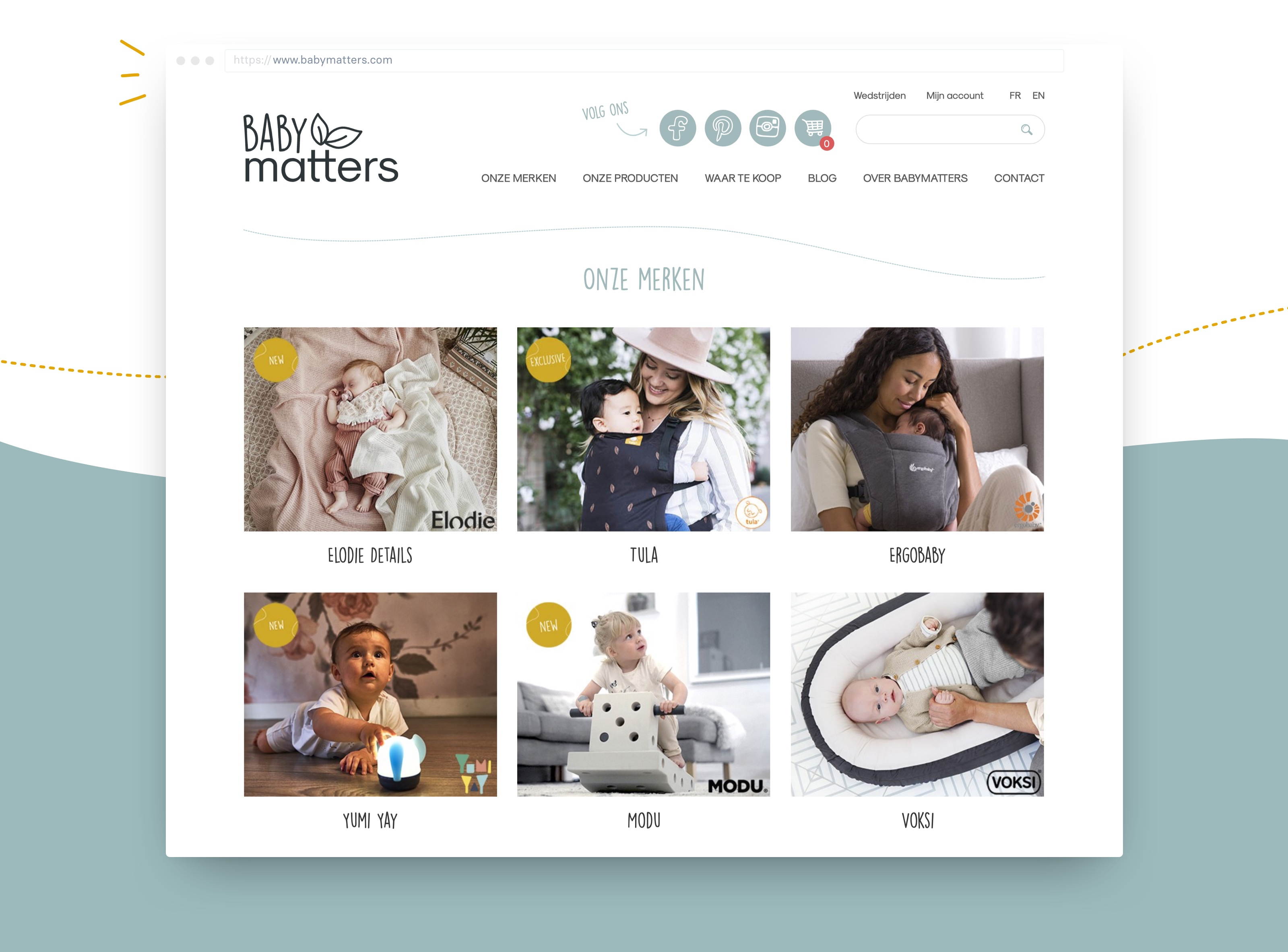 Image about BABYmatters website